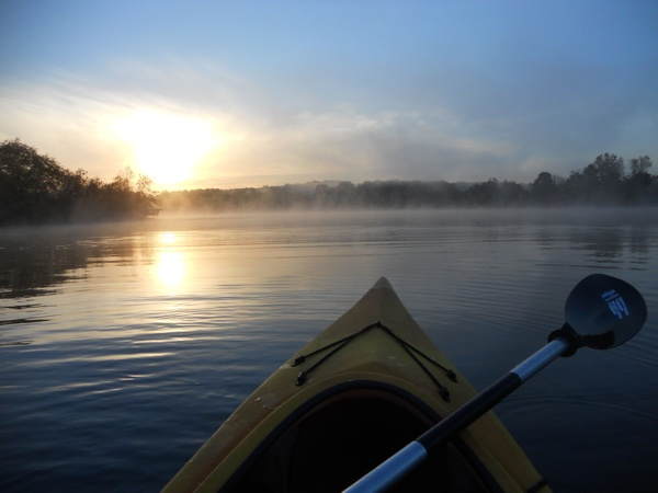 Early Morning Kayaking:)