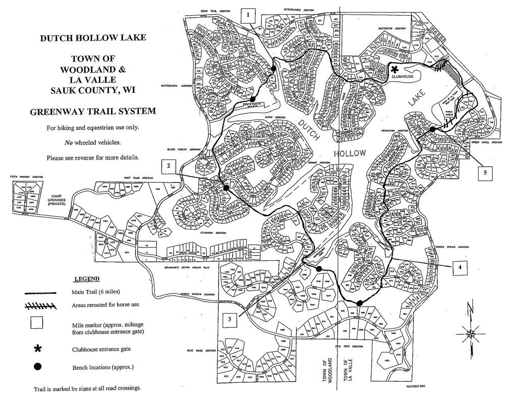 Dutch Hollow Lake Property Owners Association Site Map